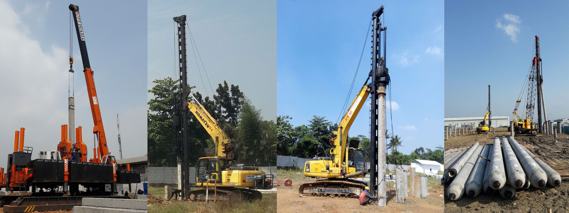 Our team of professional with excellent methods of construction are fully supported by reliable equipment system to carry out all of our Client's trusted projects